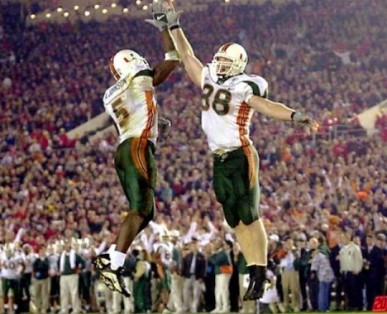 The Greatest College Football Team EVER: The 2001 Miami Hurricanes (Video)