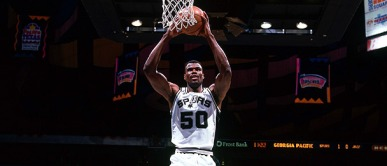 David Robinson scores 71 points vs. The Clippers (Video)